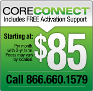 Core Connect - Prices from $75-$105 per month for 12 months